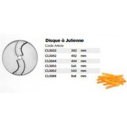 Julienne disc 4 X 4 MM...