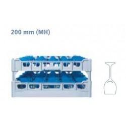 Glass rack 500 x 500 type...