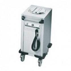 Heated plate dispenser...