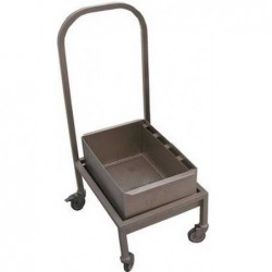 Mobile trolley with filter...