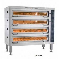 Deck oven type D4Ma SVEBA...
