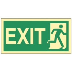 Emergency exit right 30x15...