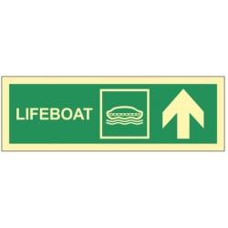 Lifeboat up right 10x30 cm...
