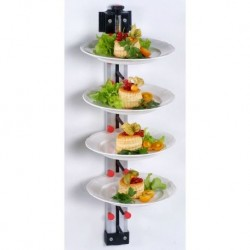 Wall Mounted plate rack for...